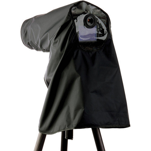 Ruggard Fabric Camera Rain Cover (Black)