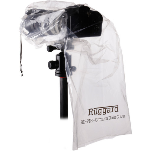 """Ruggard RC-P18 Rain Cover for DSLR with Lens up to 18"""" (Pack of 2)"""