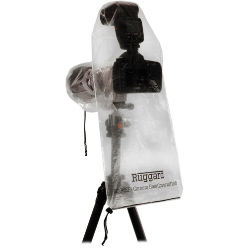 """Ruggard RC-P18F Rain Cover for DSLR with Lens up to 18"""" and Flash B&H Kit (10 Packs of 2)"""