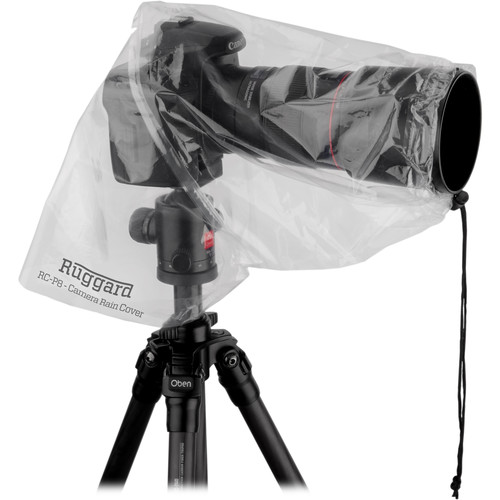 "Ruggard RC-P8 Rain Cover for DSLR with Lens up to 8"" (Pack of 2)"