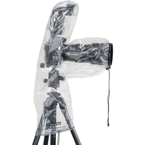 """Ruggard RC-P8F Rain Cover for DSLR with Lens up to 8""""and Flash (Pack of 2)"""