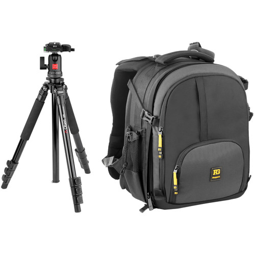 Ruggard Thunderhead 35 DSLR/Laptop Backpack and Tripod B&H Kit
