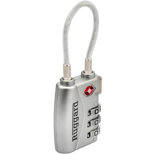 Ruggard TPL-A3CS 3-Dial Combination TSA Lock (Silver)