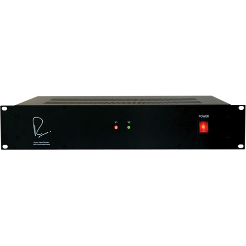 Rupert Neve Designs Power Supply for Up to 25 Shelford Series Units (+/-24V, 2RU)