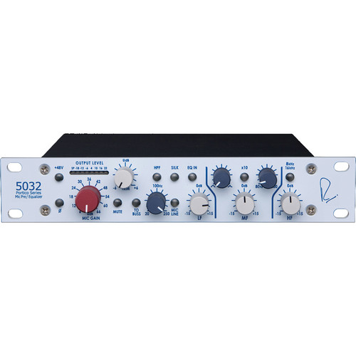 Rupert Neve Designs Portico 5032 Single-Channel Mic Pre/Equalizer (Horizontal)