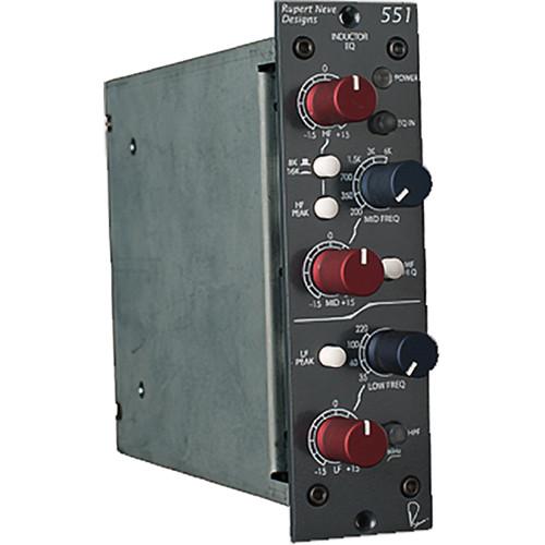 Rupert Neve Designs 551 Inductor EQ