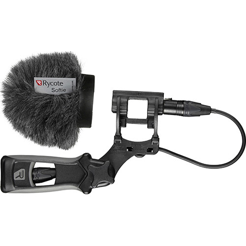 Rycote 5cm Large Hole Classic-Softie Kit with Lyre Mount and Pistol Grip Handle