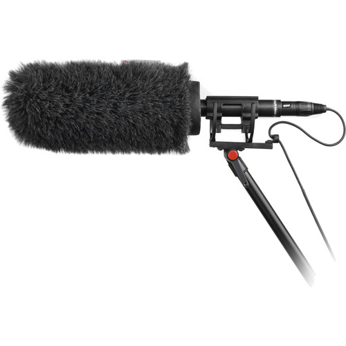 Rycote Classic-Softie and Universal Shotgun Mount Kit for Rode NTG Series