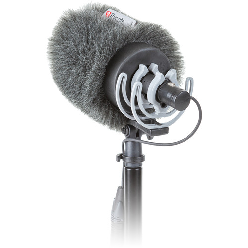 Rycote Softie Kit with Windshield and Shockmount for Sanken CS-M1 Microphone