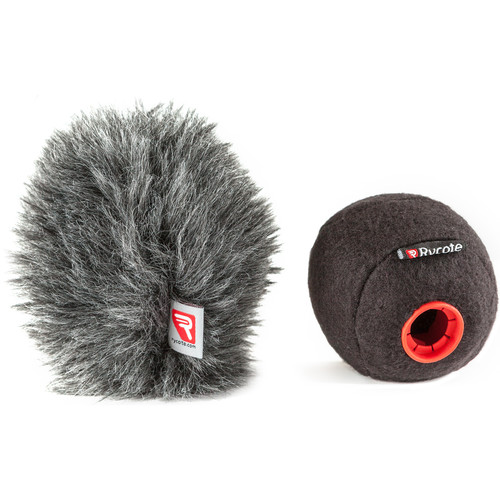 Rycote Baseball Windscreen and Baseball Windjammer Combo Kit (19/20mm)