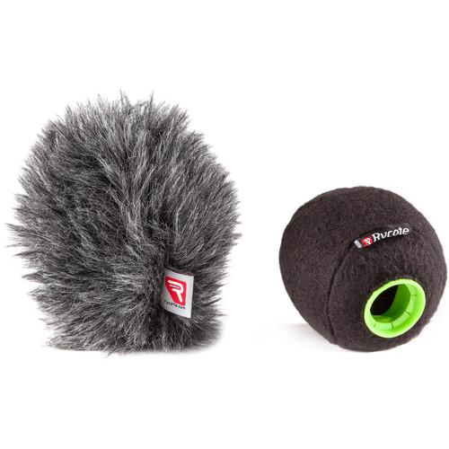 Rycote Baseball Windscreen and Baseball Windjammer Combo Kit (21/22mm)