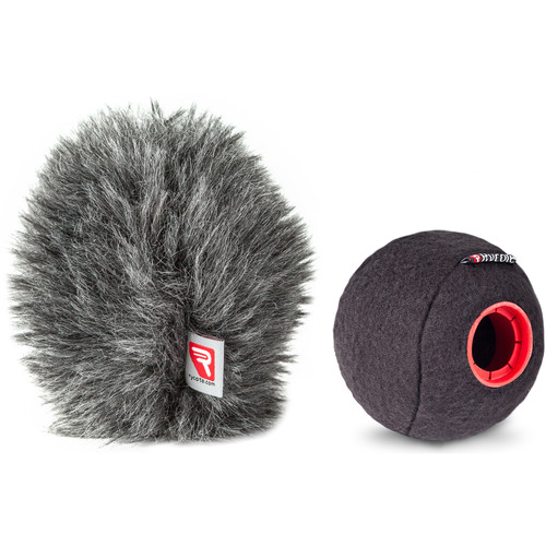 Rycote Baseball Windscreen and Baseball Windjammer Combo Kit (24/25mm)