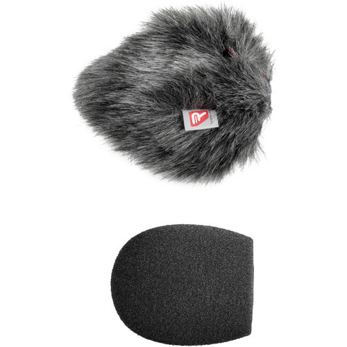 "Rycote Shotgun Mic Foam and Windjammer Combo (1.9"", Standard Hole)"