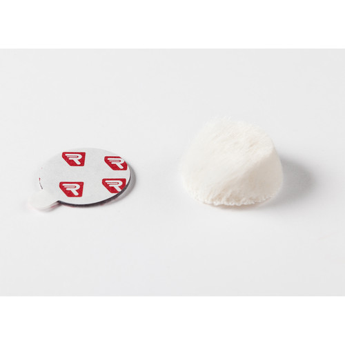 Rycote Overcovers Advanced, Wind Covers & Adhesive Mounts for Lavalier Mics (White)