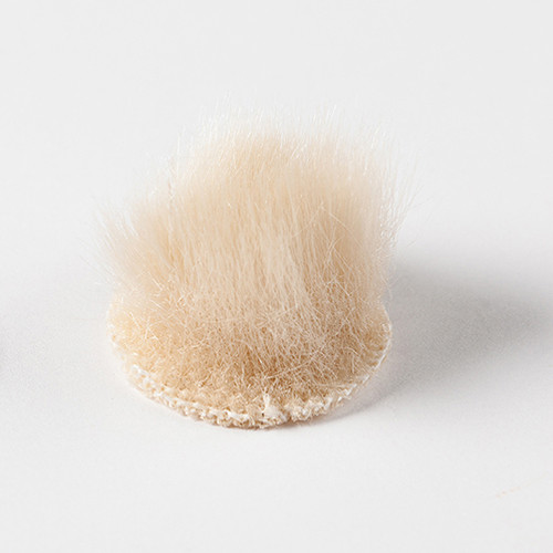 Rycote Overcovers Advanced Fur Discs for Lavalier Microphones (100-Pack, Beige)