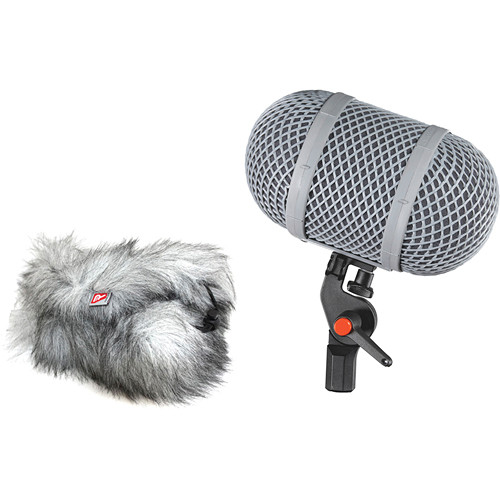 Rycote WS 9 Modular Windshield Kit (Lemo) Complete Windshield and Suspension System