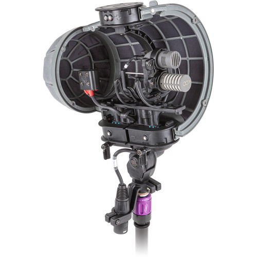 Rycote Stereo Cyclone MS Kit 1 Windshield System for Schoeps CCM Pair