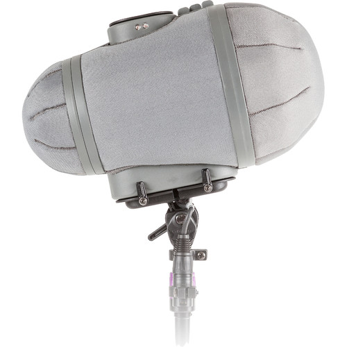 Rycote Stereo Cyclone MS Kit 4 Windshield System for Sennheiser MKH 30 and MKH 50