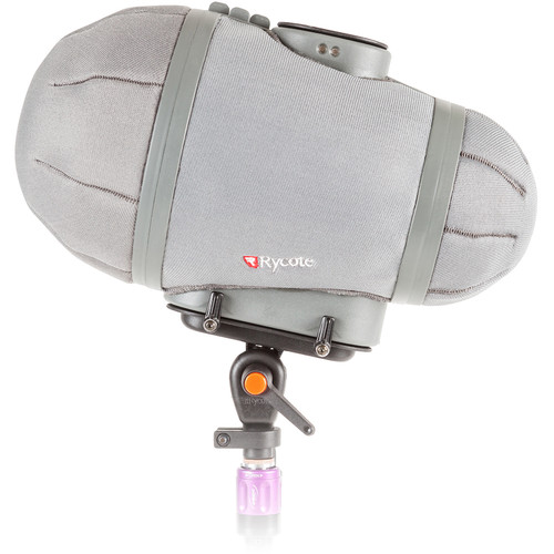 Rycote Stereo Cyclone MS Kit 6 Windshield System for Neumann KM 120 and KM 140