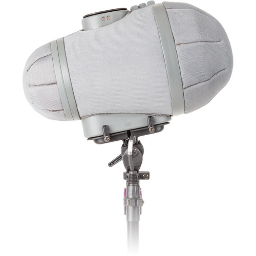 Rycote Stereo Cyclone MS Kit 16 Windshield System for Sennheiser MKH 8040/8050 and MKH 30