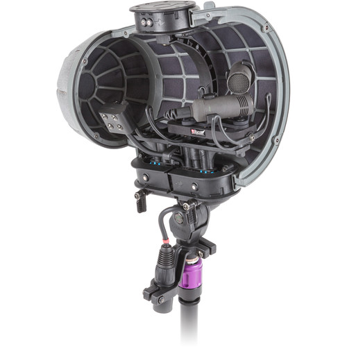 Rycote Stereo Cyclone XY Kit 1 Windshield System for Sennheiser MKH 8040 X/Y Pair