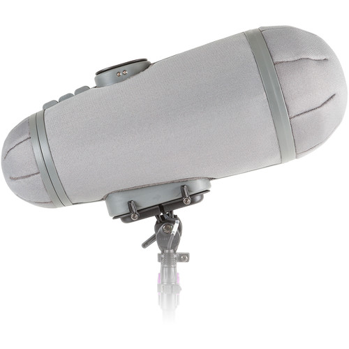 Rycote Stereo Cyclone Windshield Single Mic 6 for Sanken CSS-50