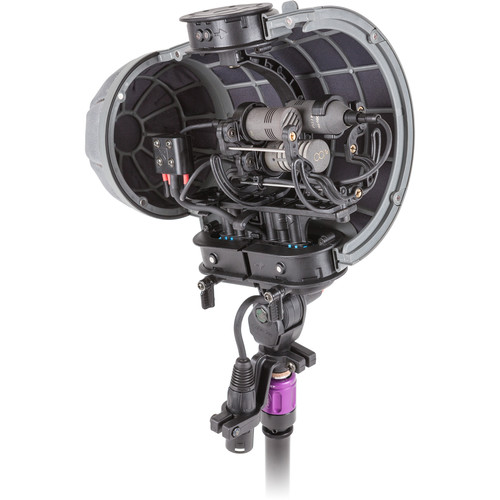 Rycote Stereo Cyclone DMS Kit 1 Windshield System for Schoeps CCM 4 Pair and CCM 8