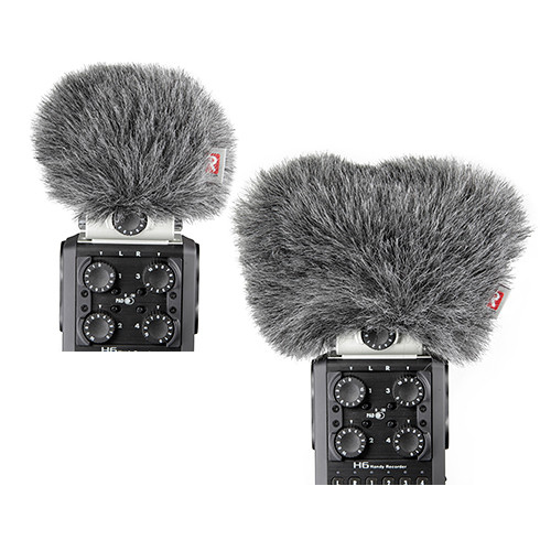 Rycote Mini Windjammer Combo Set for Zoom H6 Mid-Side and X/Y Capsules