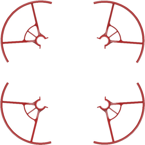 Ryze Tech Propeller Guards for Tello Quadcopter (Iron Man Edition, Set of 4)