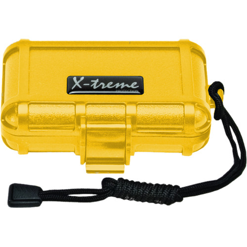 S3 Cases 1000 Series X-Treme Dry Box (Empty, Yellow)