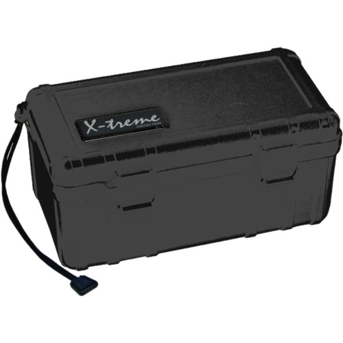 S3 Cases 2500 Series X-Treme Dry Box (Empty, Black)