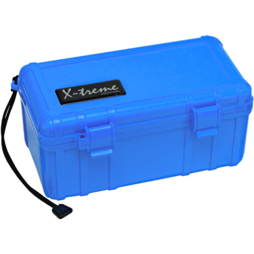 S3 Cases 2500 Series X-Treme Dry Box (With Foam, Blue)