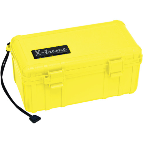 S3 Cases 2500 Series X-Treme Dry Box (With Foam, Yellow)