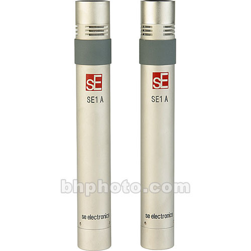 sE Electronics sE1a Small-Diaphragm Microphone (Stereo Set)