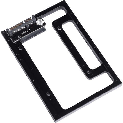 "Sabrent 2.5"" to 3.5"" SATA Drive Bay Converter Mounting Kit"