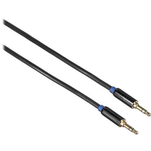 Sabrent 3.5mm Gold-Plated Male to Male Aux Cable (1')