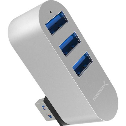 Sabrent USB  3.0 3-Port Rotating Mac Style Hub