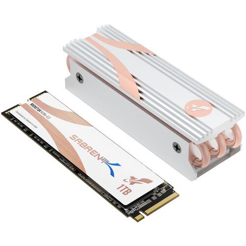 Sabrent 1TB Rocket Q4 PCIe 4.0 M.2 2280 Internal SSD with Heatsink