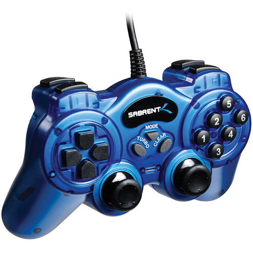 Sabrent 12-Button USB 2.0 Game Controller
