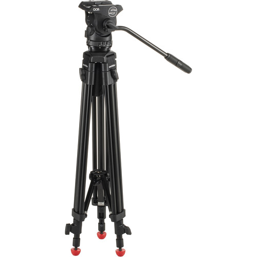 Sachtler Ace M System Black Edition with Tripod & Mid-Level Spreader (75mm Bowl)