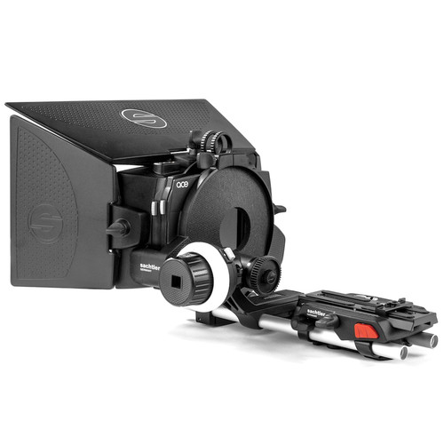 Sachtler Ace Follow Focus, Matte Box, and Baseplate with 15mm Rods