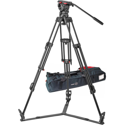 Sachtler FSB 10 T ENG 2 D Aluminum Tripod System with Touch & Go Plate (100mm)