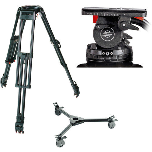 Sachtler System 25 EFP 2 with Dolly (150mm Bowl)