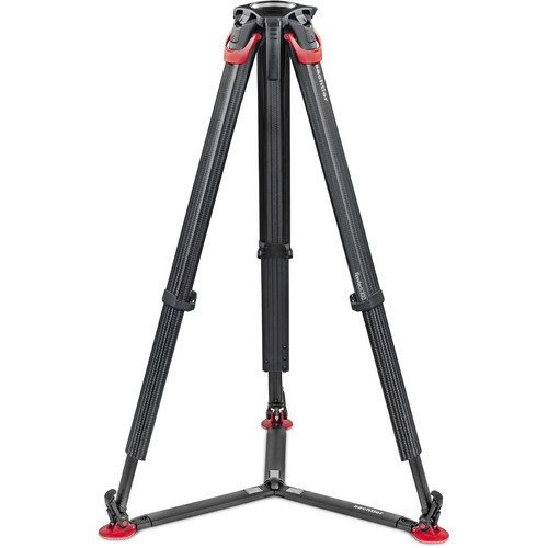 Sachtler flowtech 100 mm Carbon Fiber Tripod (Ground Spreader)