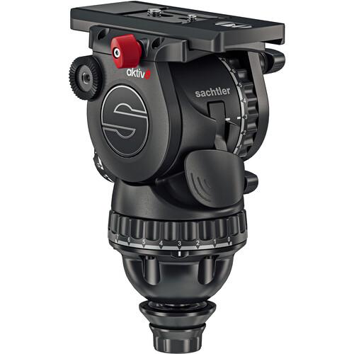 Sachtler aktiv8T Touch &Go Fluid Head with SpeedLevel & 7-Step Drag (75mm)