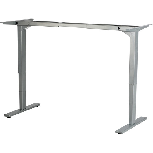 Safco Electric Height-ADJ Table Base (Gray)