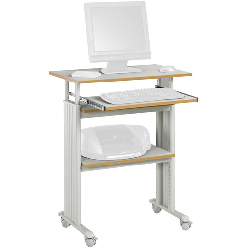 Safco Muv Stand-Up Adjustable Height Desk (Gray)