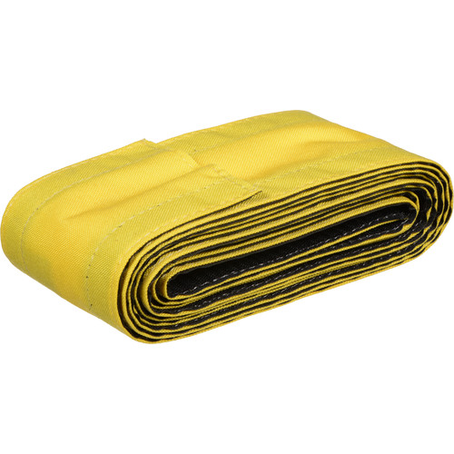 """Safcord Cord and Cable Protector for Carpet (4"""" x 12', Yellow)"""