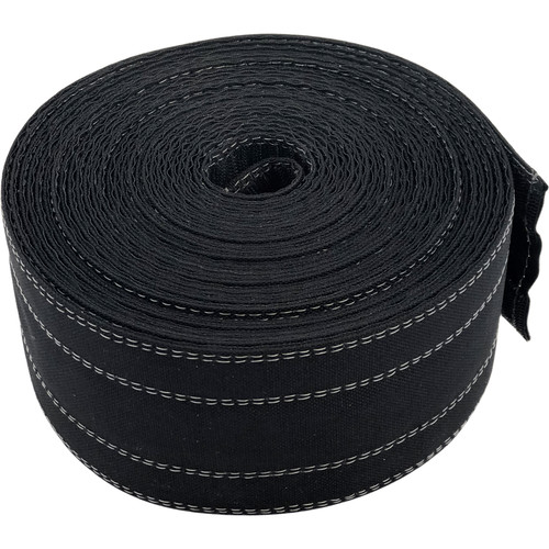 """Safcord Cord and Cable Protector for Carpet (4"""" x 100', Black)"""