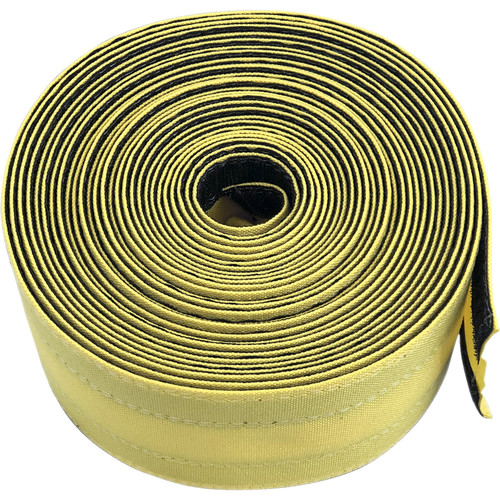 """Safcord Cord and Cable Protector for Carpet (4"""" x 100', Yellow)"""